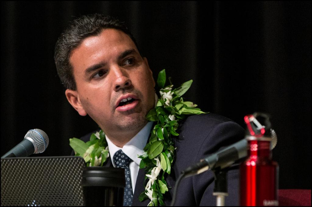Honolulu City Council Vice-Chair Ikaika Anderson.