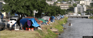 City Council Passes Bill That Could Target Kapalama Canal Encampment