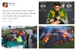 Hawaii's 2014 in 25 Tweets