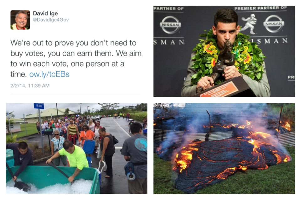 Hawaii's 2014 in 25 Tweets