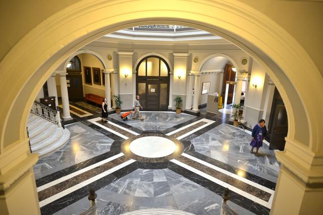 Aliiolani Hale Supreme Court Building 29 jan 2015. photograph Cory Lum/Civil Beat