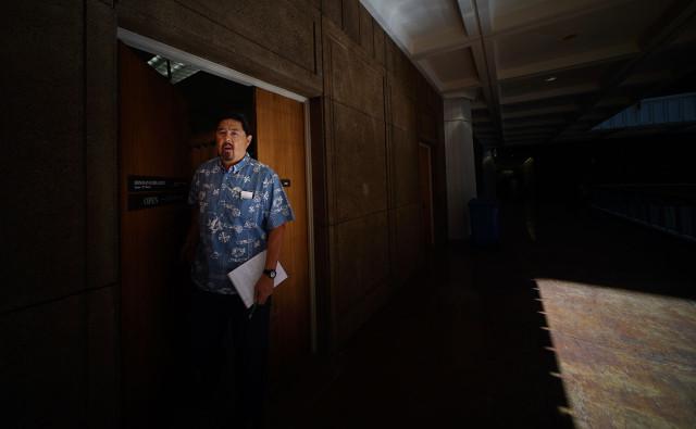 Carleton Ching DLNR appointee legislature . 11 feb 2015 photograph Cory Lum/Civil Beat