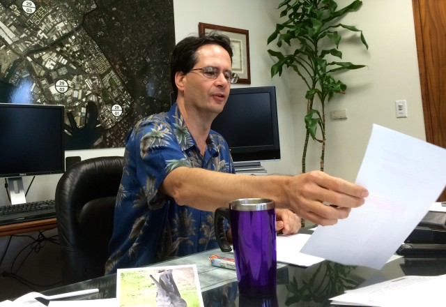 Karl Rhoads in office