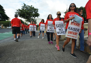 Many Kaiser Permanente Clinics Close as Union Begins Six-Day Strike