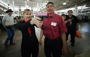 The Projector: Civil Beat Checks Out a Gun Show as the Legislature Continues