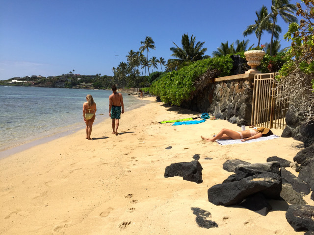Kahala erosion