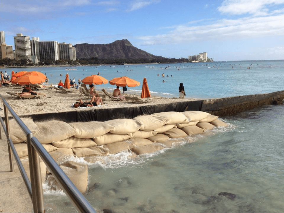 Hawaii Beach Erosion