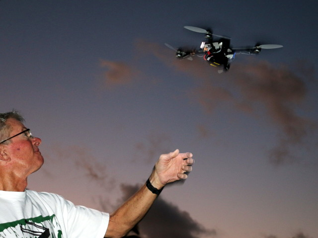 Drone Hawaii Ted Ralston military research