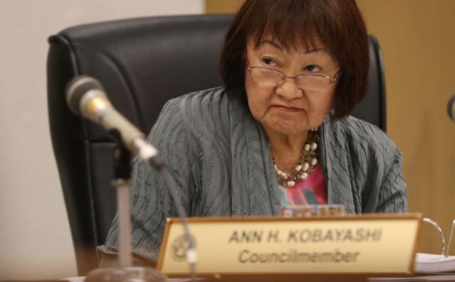 Honolulu City Council member Ann Kobayashi.  1 apr 2015.  photograph Cory Lum/Civil Beat