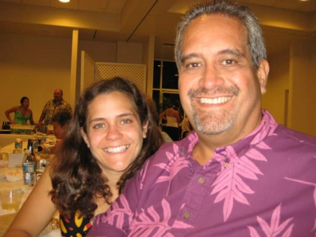 Keopu Reelitz and her father for Connections