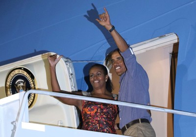 With 60 Percent Approval, Obama Still Feeling The Aloha