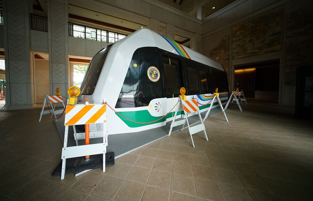 Honolulu rail car