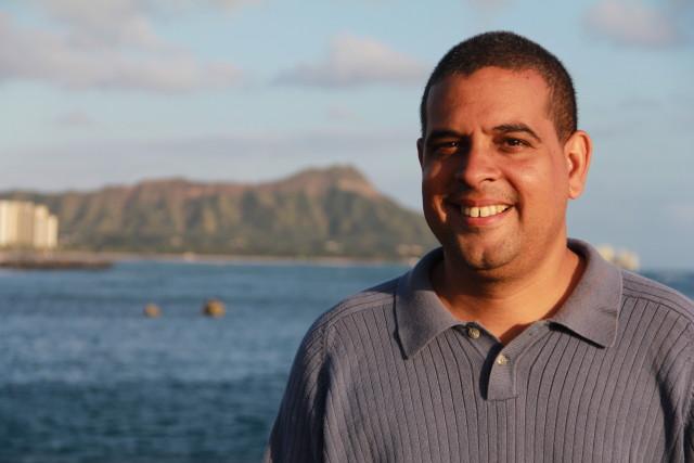 Albert Lanier on Oahu