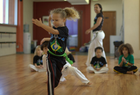 Rod Todorovich's son studying Capoeira