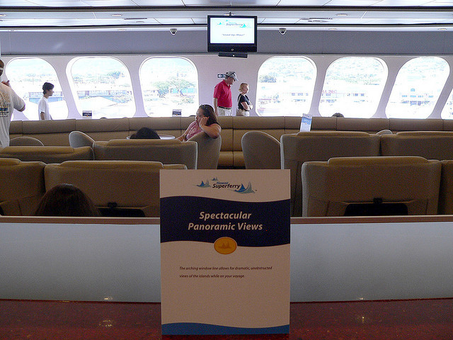 Aboard the Superferry