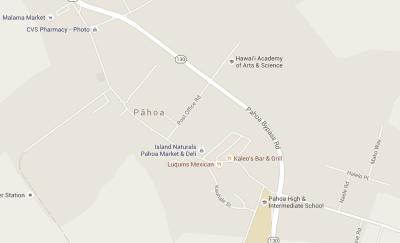 Pahoa map