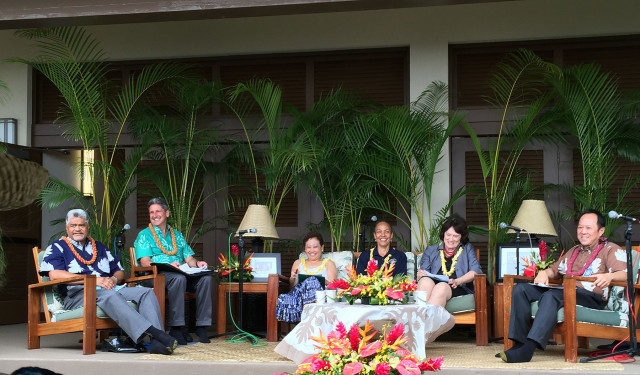 Leadership panel  the the 2015 Native Hawaiian Education Summit. Kamehameha Schools.