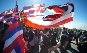 27 Arrested Protesting Telescopes on Mauna Kea and Haleakala
