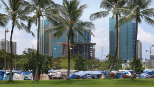 Will the Hammer Fall on Homeless Encampment in Kakaako?