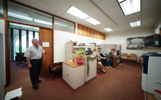 Representative Sam Kong's office. State Capitol. 6 july 2015. photograph Cory Lum/Civil Beat