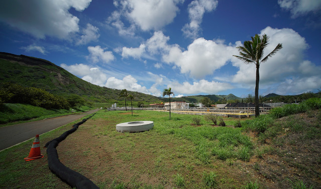 East Honolulu Wastewater Treatment Plant. 28 aug 2015. photograph Cory Lum/Civil Beat