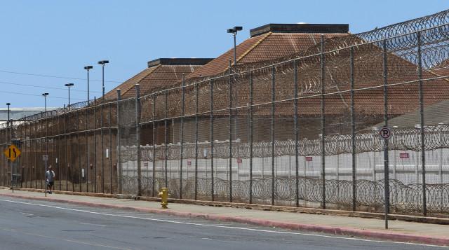 OCCC. Oahu Community Correctional Center. Kalihi. Jail. 19 aug 2015. photograph Cory Lum/Civil Beat