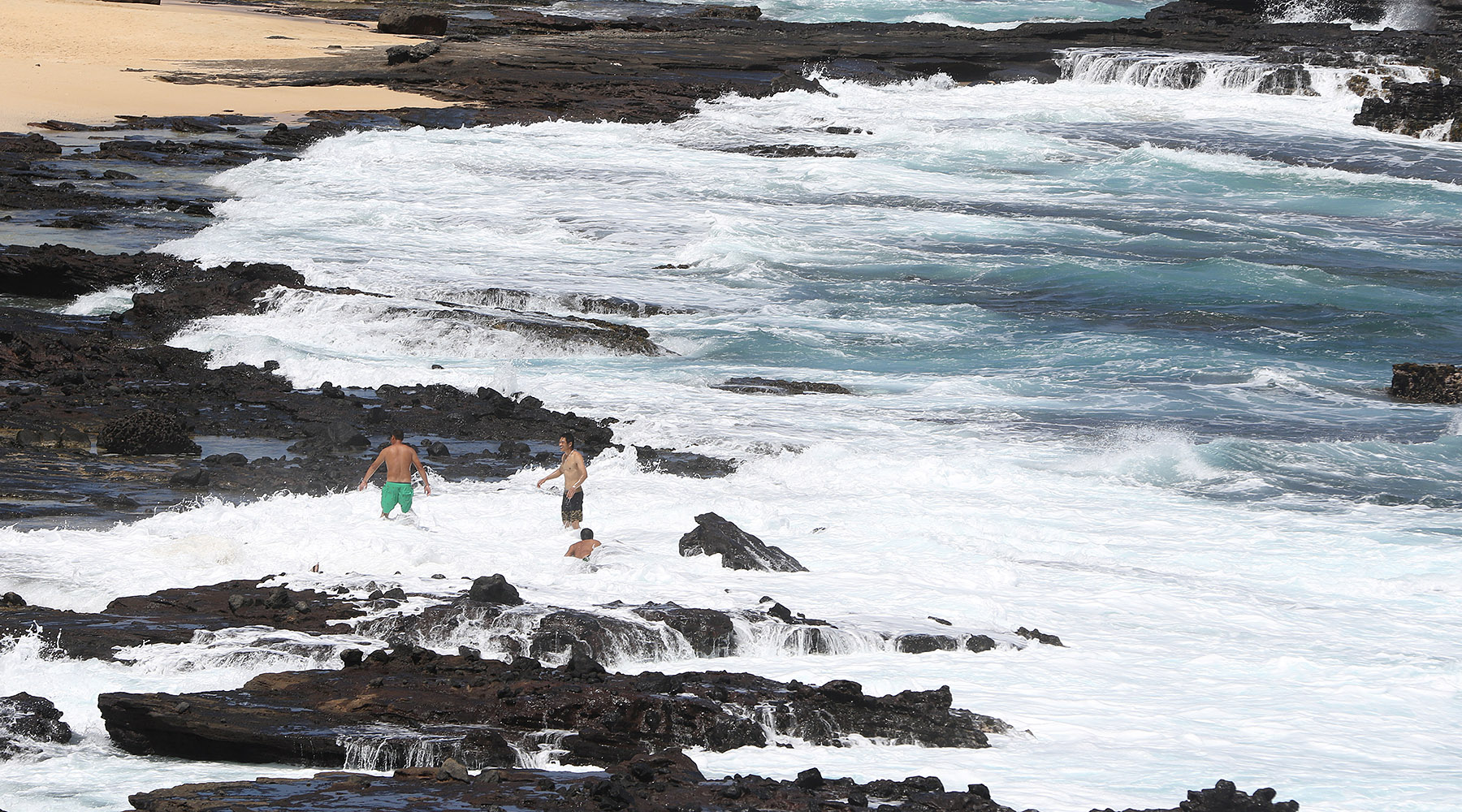 <p>A stretch of Oahu&#8217;s Sandy Beach is particularly treacherous — one of the worst locations for spinal cord injuries in Hawaii.</p>