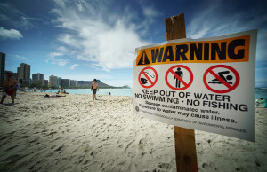 Honolulu Beaches Remain Closed Pending Water Test Results