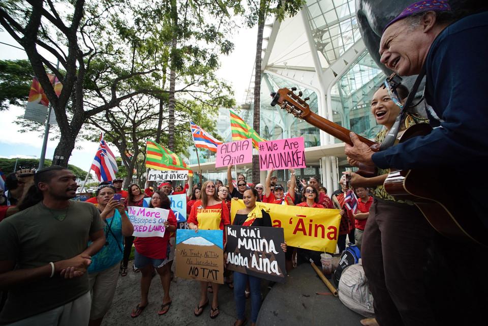 In Defense of the Protectors of Mauna Kea