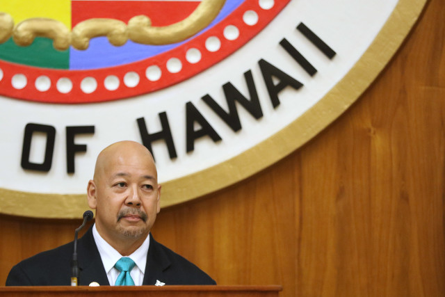 Honolulu City Council Chair Ernie Martin. 2 sept  2015. photograph Cory Lum/Civil Beat