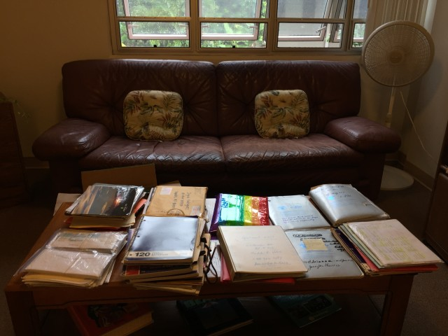 Rodrigues has countless folders and binders documenting her efforts to find housing.