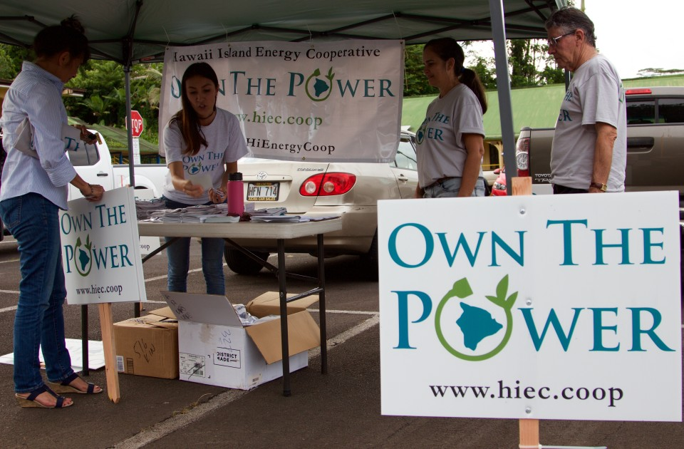 Big Island Co-op's Clean Energy Plan