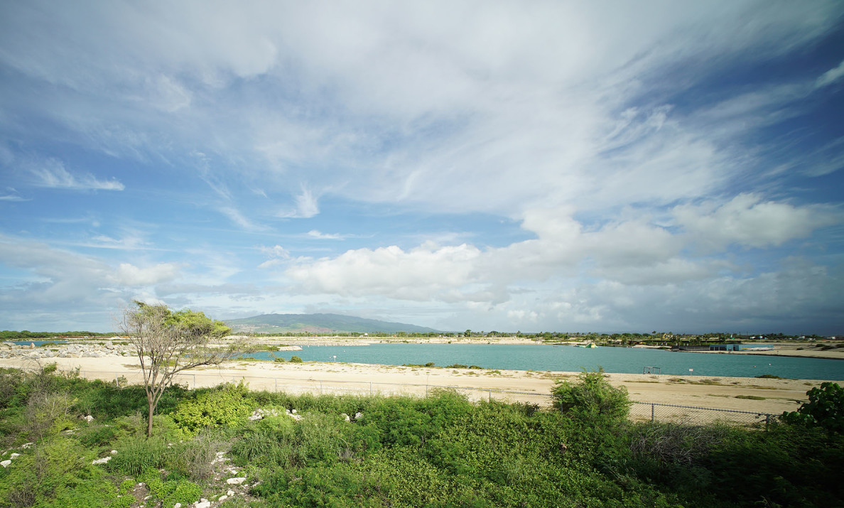 Anita's story on Wai Kai Lagoon, located next to Onehula Park in Ewa Beach.  29 sept 2015. photograph Cory Lum/Civil Beat