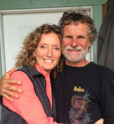 Dena and Graham Ellis recently moved away Puna — and Graham is relieved to escape the stress involved in living there.