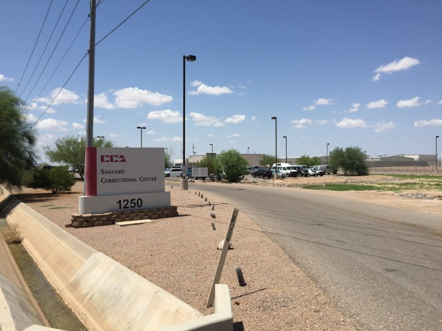 Hawaii sends its most serious offenders to this private prison run by Corrections Corporation of America in Eloy, Arizona.