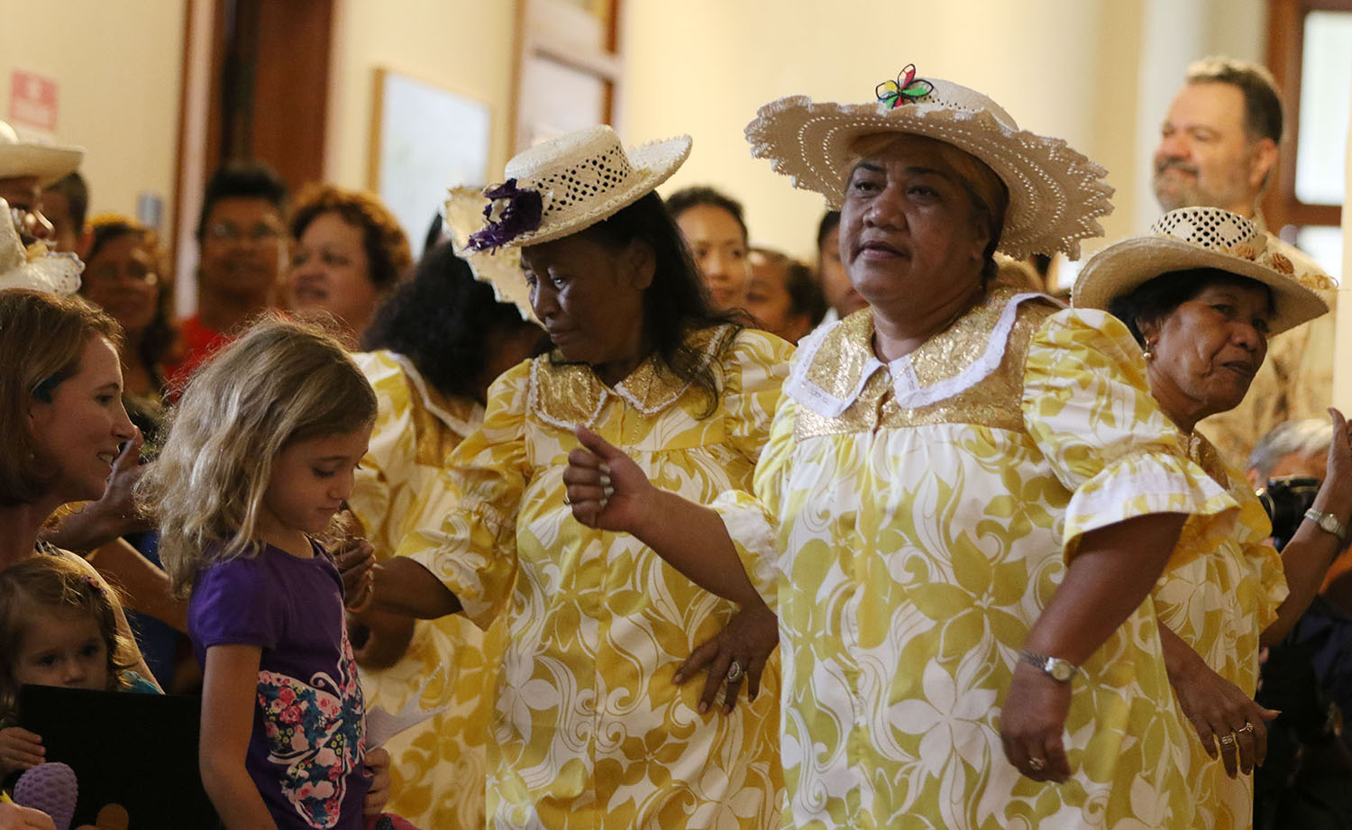 <p>The Lale Dron Dance Group brought an elegant touch to &#8220;Celebrate Micronesia.&#8221;</p>