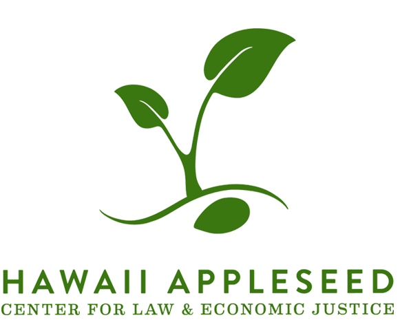 hawaii appleseed - climate change: 'the single greatest threat to our existence'
