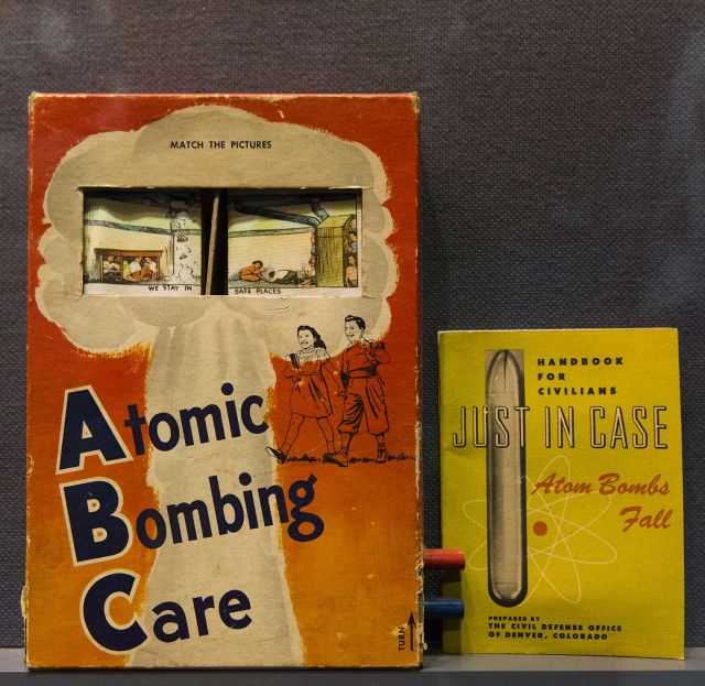A display at the Harry S. Truman museum and library in Independence, Missouri.
