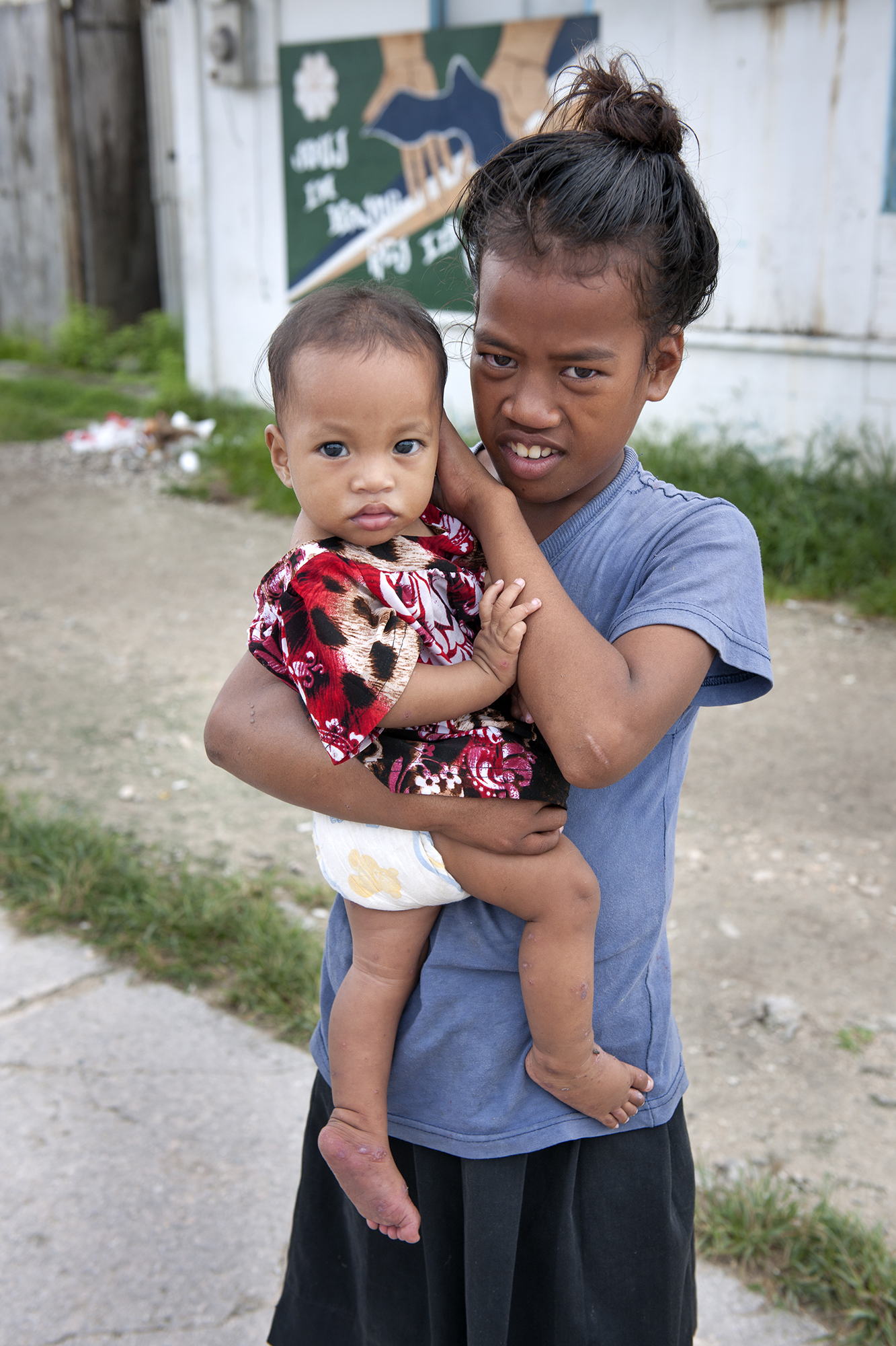 <p>Besides faith, family is at the core of Marshallese life.</p>