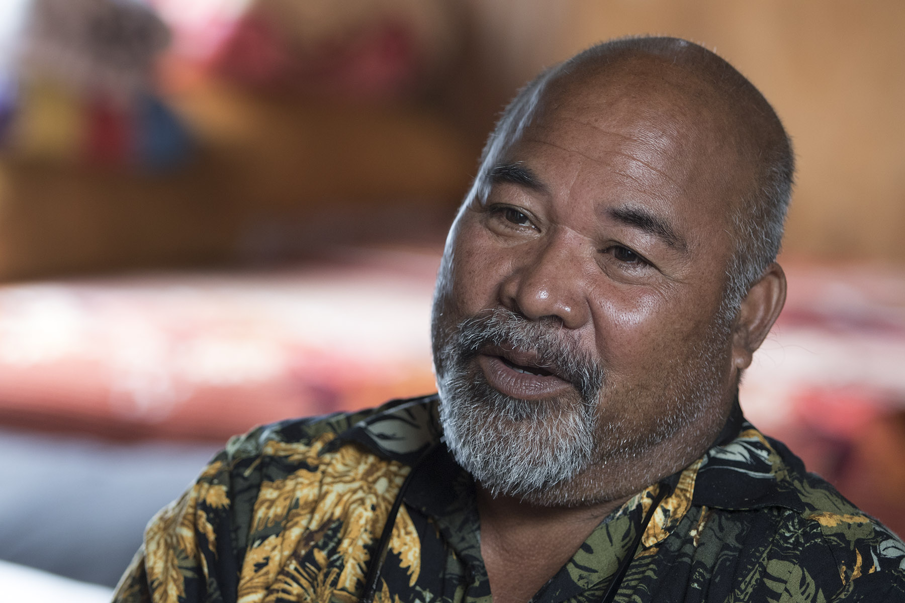 <p>Jonithen Jackson has lived in Hawaii for almost 25 years, but is running for the mayor of Enewetak. His home atoll has been largely uninhabitable due to nuclear contamination.</p>