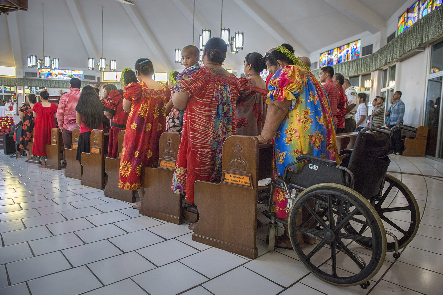 <p>It&#8217;s estimated that as many as 20,000 Micronesians now call Guam home. Some attend services at the Parish of Santa Barbara in Dededo.</p>