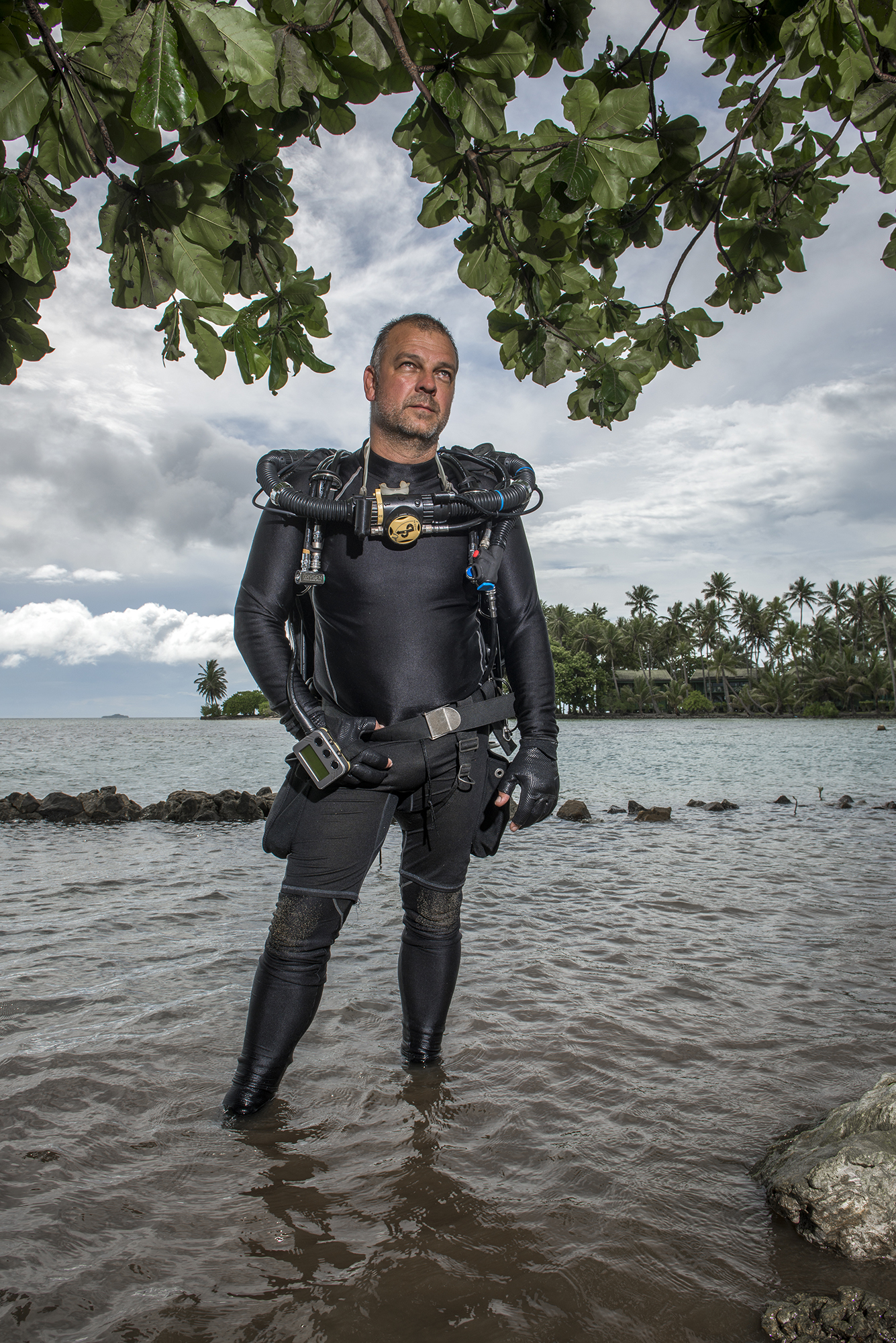<p>Pete Mesley, who often leads tours to the Blue Lagoon Resort, operates a company called Lust4Rust. He&#8217;d like to see improvements made to Chuuk&#8217;s infrastructure to help expand tourism.</p>