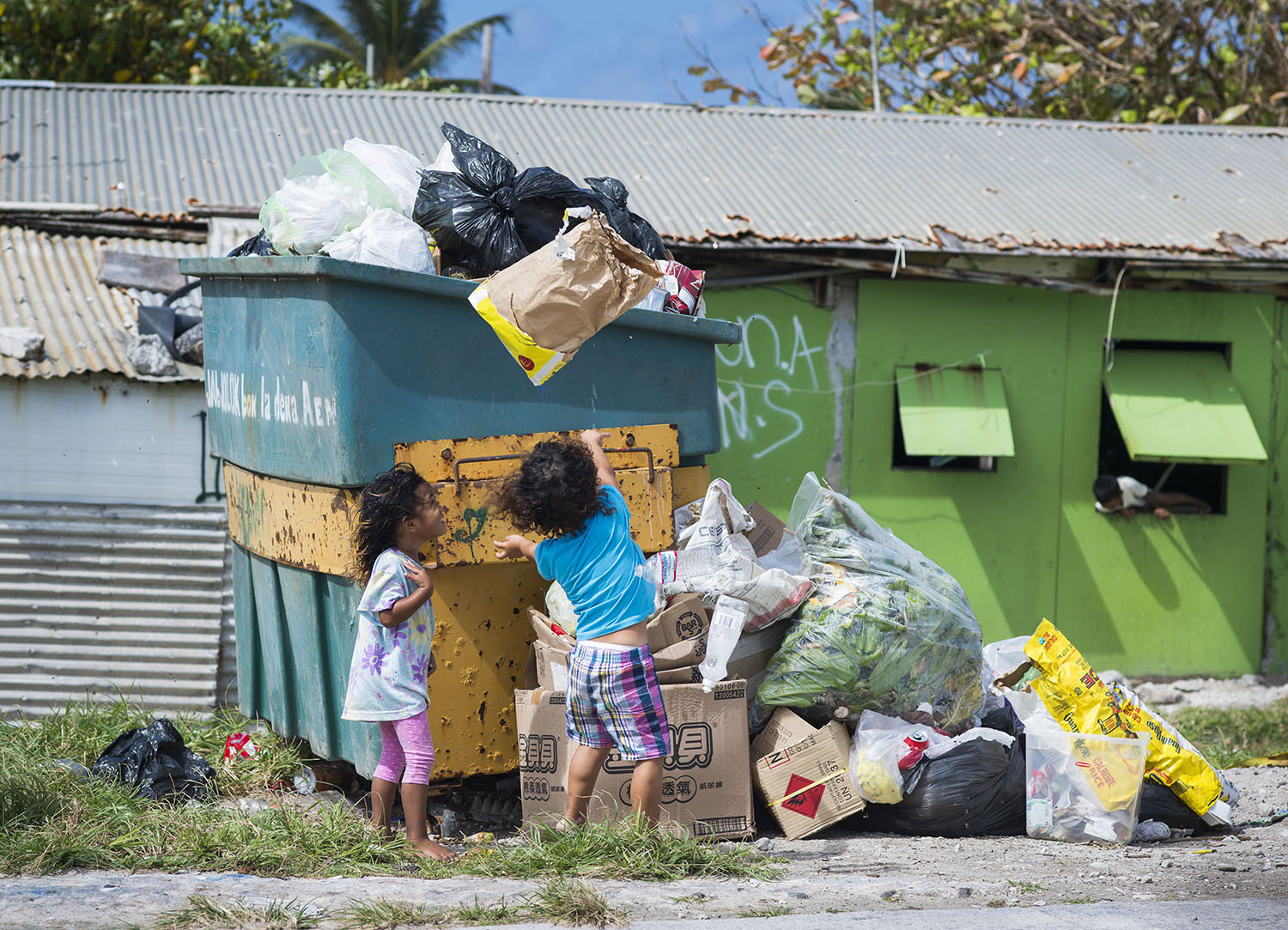 <p>Health concerns are a serious problem on Ebeye where sanitation is sometimes sketchy.</p>