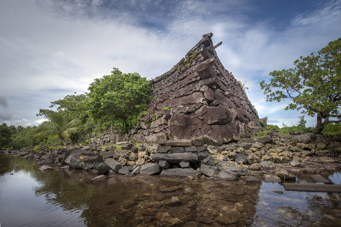 The ruins of Nan Modal on Pohnpei are famous, but not enough to draw the large numbers of tourists the region needs.