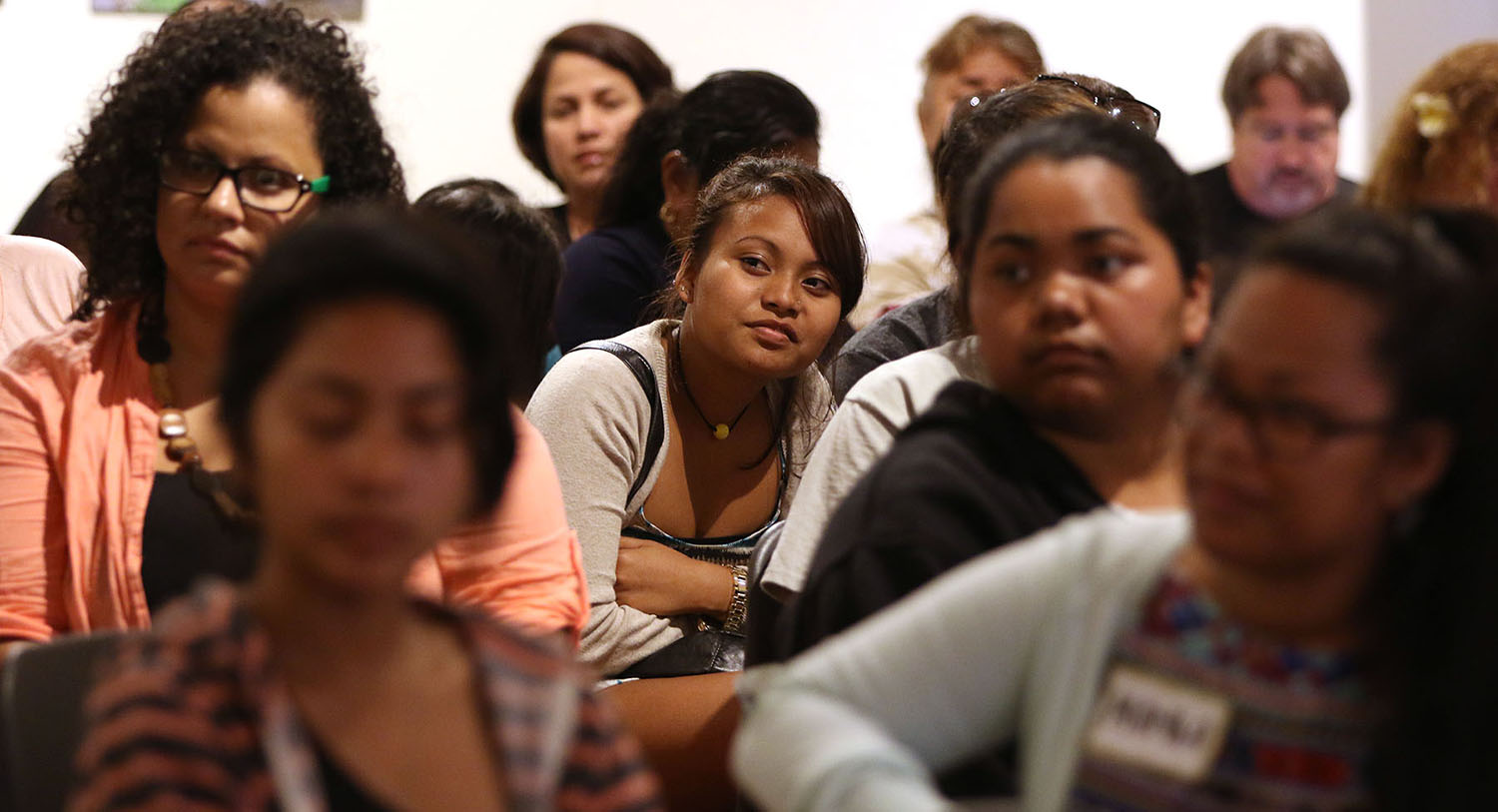 <p>Many Micronesians attend leave their home islands for college in the U.S. These students attended a conference in March in Honolulu called &#8220;Navigating Success: Micronesian College Student Leaders.&#8221;</p>