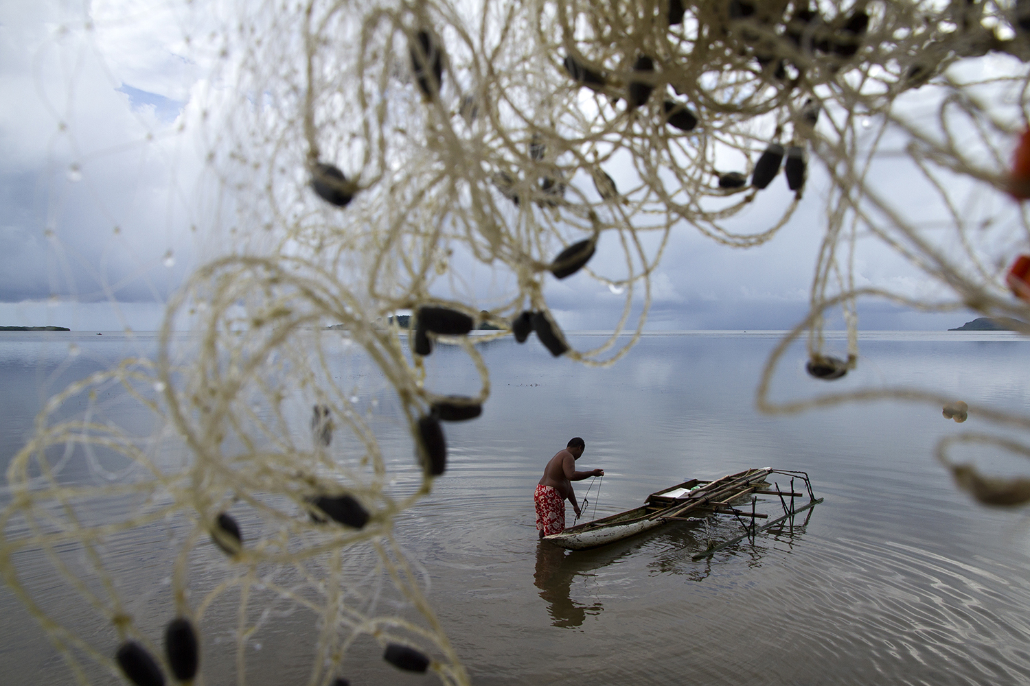 <p>Many fishermen fear that climate change is destroying the habitat and fish stock that they depend on.</p>