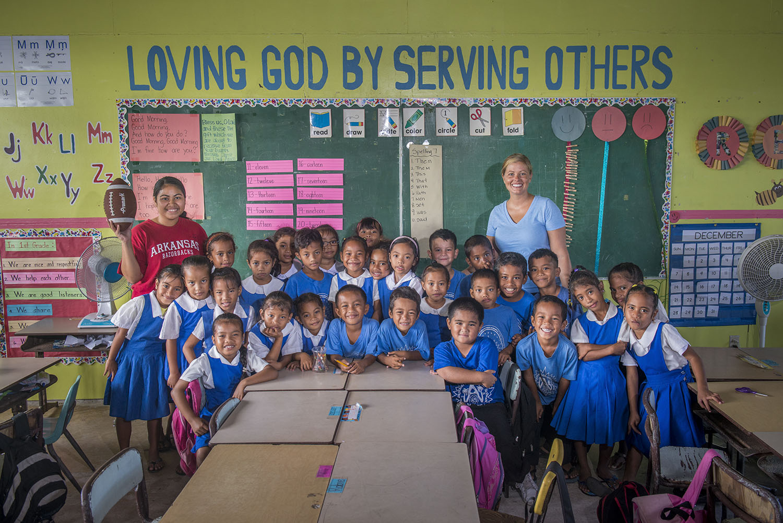 <p>Assumption School, a Catholic school on Majuro.</p>