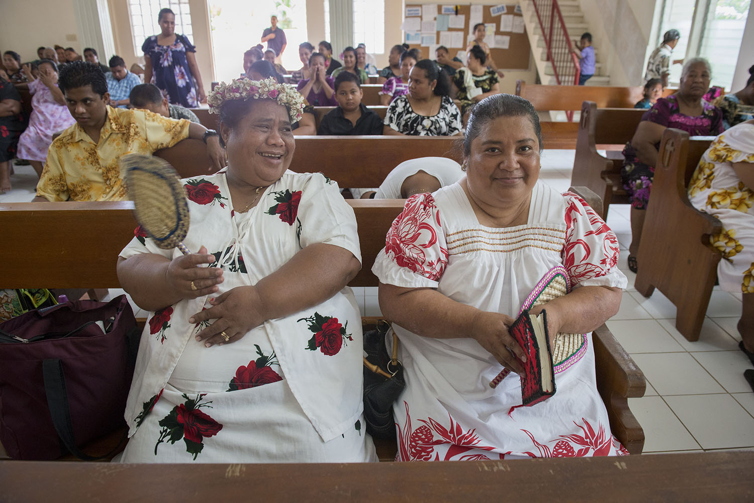<p>Mwalok Church is part of the United Church of Christ. It&#8217;s a popular place of worship on Pohnpei.</p>