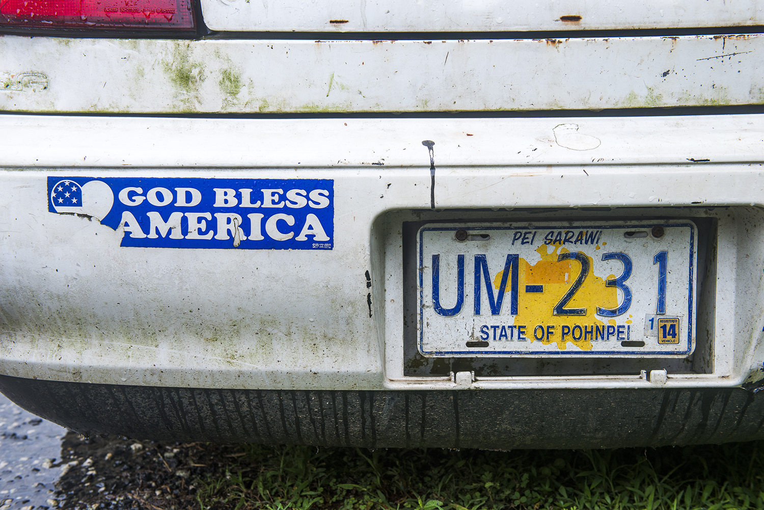 <p>A bumper sticker says it all.</p>