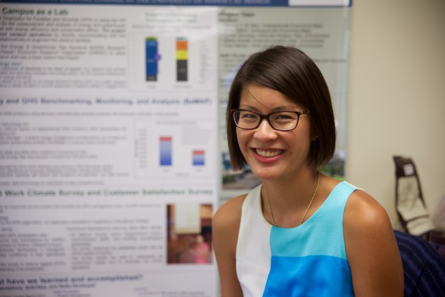 Sherilyn Wee is now working on a project that looks at the economic impacts of electric vehicles in Hawaii.